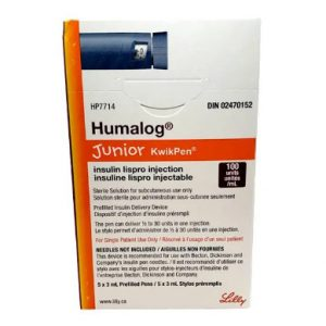 Humalog Junior KwikPen 100 Units / mL