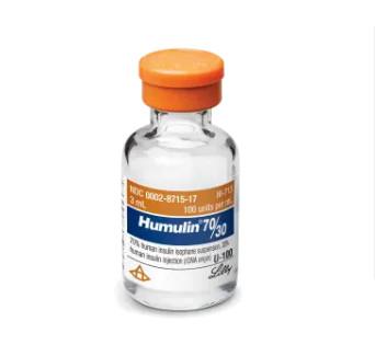 Humulin 30 / 70 Insulin Vials