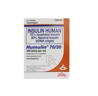 Humulin 30 / 70 Cartridge