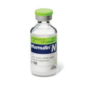 Humulin N Vial 100