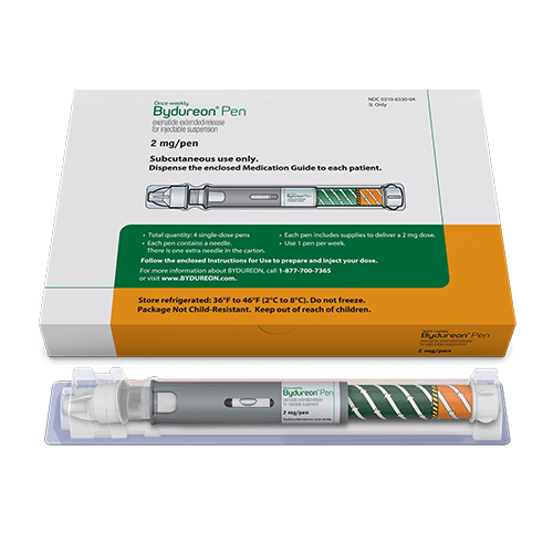 Bydureon (Exenatide) Injectable Pen
